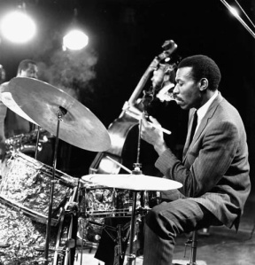 Elvin Jones worked with John Coltrane, Charlie Mingus and Miles Davis, and became one of the most significant drummers of the post-bop era. It's a funny old game. In this tough group and against some true giants of the drumset, even playing on John Coltrane's A Love Supreme isn't enough to get you the votes.