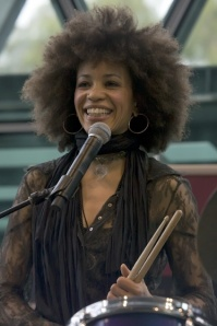 Birth nameCindy Blackman Also known asCindy Blackman-Santana Born November 18, 1959 (age 53) Yellow Springs, Ohio United States GenresJazz fusion, Rock 'n' roll OccupationsMusician InstrumentsDrums, percussion LabelsMuse, Sacred Sounds Associated actsSantana, Lenny Kravitz