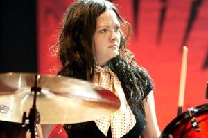 Megan Martha White Drummer