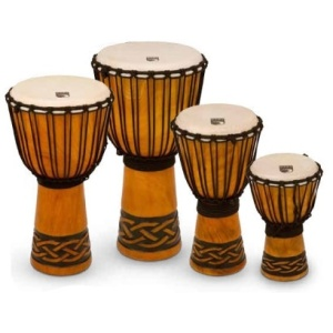 Toca Origin Series Djembe, Celtic Knot, shop now at www.x8drums.com