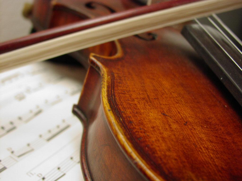 Violin Wallpaper: Percussion Instruments