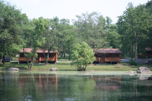 Cottages and Cabins at Drummer Boy Camping Resort