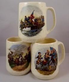Vintage American Revolution Mugs
