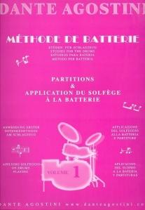 Agostini, Dante: Methode De Batterie - Studies For The Drums - Solfege Batterie Volume 1 http://www.musicroom.com