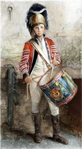 George_W__Joy,_An_English_Drummer_Boy_(1902)