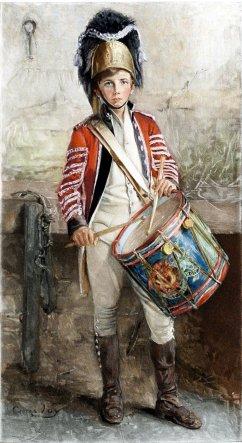 George_W__Joy,_An_English_Drummer_Boy_(1902)