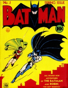 Where it all began: the first Batman Comic cover