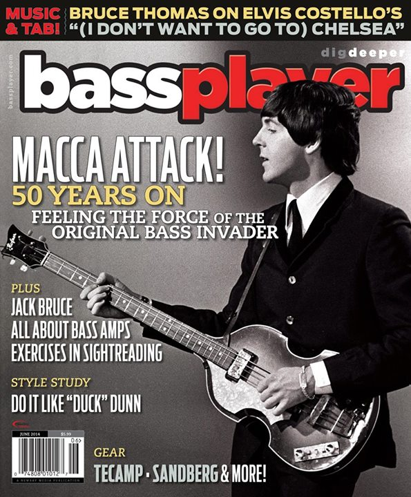 Paul McCartney (Bass Player Magazine)